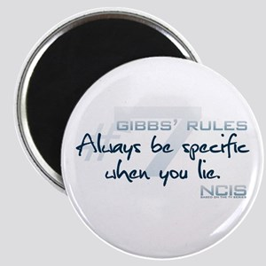 Gibbs' Rules #7 Magnet