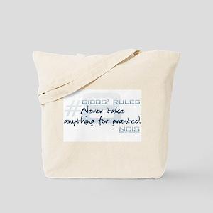 Gibbs' Rules #8 Tote Bag