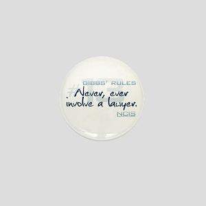 Gibbs' Rules #13 Mini Button