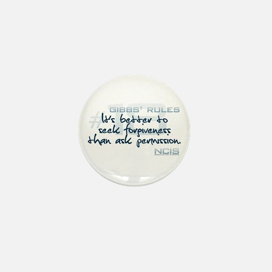 Gibbs' Rules #18 Mini Button