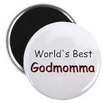 "Worlds Best Godmomma 2.25"" Magnet (10 pack)"