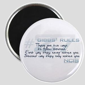 Gibbs' Rules #27 Magnet