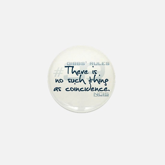 Gibbs' Rules #39 Mini Button