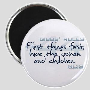 Gibbs' Rules #44 Magnet