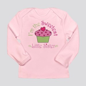 Sweet Little Sister Long Sleeve Infant T-Shirt