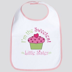 Sweet Little Sister Bib