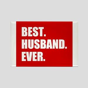 Red Best Husband Ever Magnets