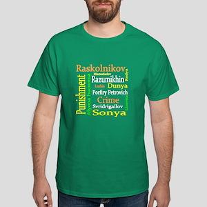 Dostoevsky Characters Dark T-Shirt