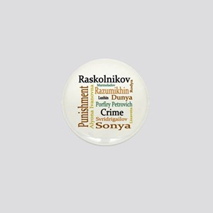 Dostoevsky Characters Mini Button