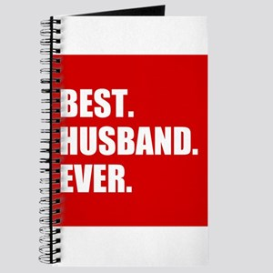 Red Best Husband Ever Journal
