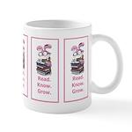 Reading Rabbit Mug