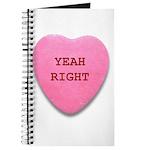 Candy Heart Journal