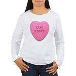 Candy Heart Women's Long Sleeve T-Shirt