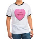 Candy Heart Ringer T
