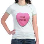 Candy Heart Jr. Ringer T-Shirt
