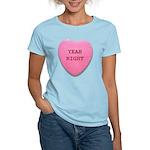 Candy Heart Women's Light T-Shirt