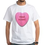 Candy Heart White T-Shirt