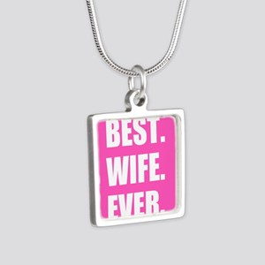 Pink Best Wife Ever Necklaces
