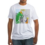 Monster Jobs Fitted T-Shirt