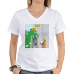 Monster Jobs Women's V-Neck T-Shirt