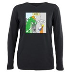 Monster Jobs Plus Size Long Sleeve Tee