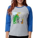 Monster Jobs Womens Baseball Tee