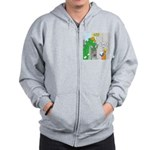 Monster Jobs Zip Hoodie