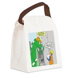 Monster Jobs Canvas Lunch Bag