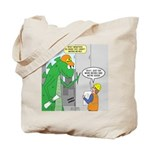 Monster Jobs Tote Bag