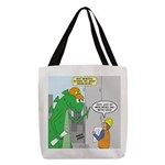 Monster Jobs Polyester Tote Bag