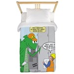 Monster Jobs Twin Duvet Cover