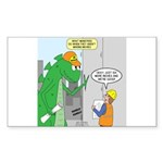 Monster Jobs Sticker (Rectangle 10 pk)