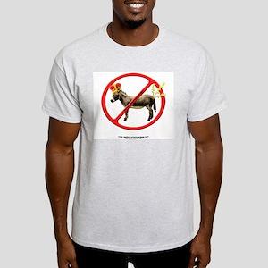 Don't Be a Royal PaininthASS Ash Grey T-Shirt