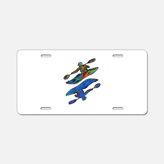 KAYAK Aluminum License Plate