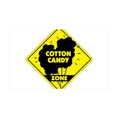 Cotton Candy Zone 38.5 x 24.5 Wall Peel