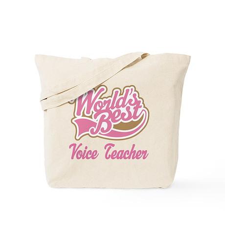 Voice Teacher Tote Bag