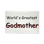 Greatest Godmother Rectangle Magnet (10 pack)
