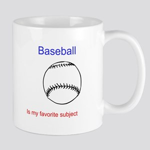Baseball is my favorite subje Mug