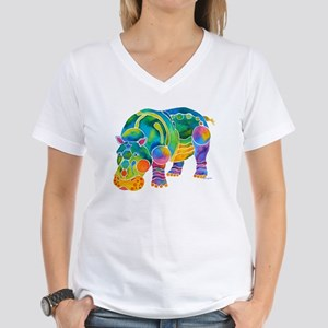 Most Popular HIPPO Women's V-Neck T-Shirt