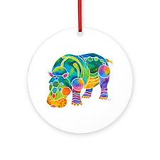 Most Popular HIPPO Ornament (Round)