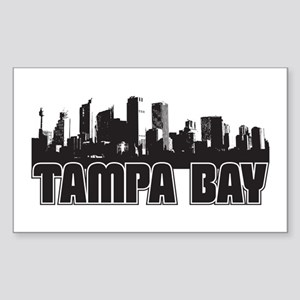Tampa Bay Skyline Sticker (Rectangle)