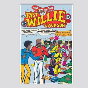 FastWillie Jackson #3 Postcards (Package of 8)