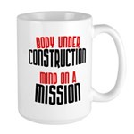 Body under construction... Large Mug