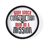 Body under construction... Wall Clock