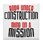Body under construction... Tile Coaster