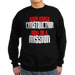 Body under construction... Sweatshirt (dark)