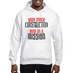 Body under construction... Hooded Sweatshirt