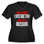 Body under construction... Women's Plus Size V-Nec
