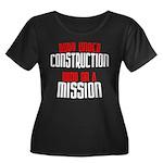 Body under construction... Women's Plus Size Scoop