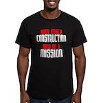 Body under construction... Men's Fitted T-Shirt (d